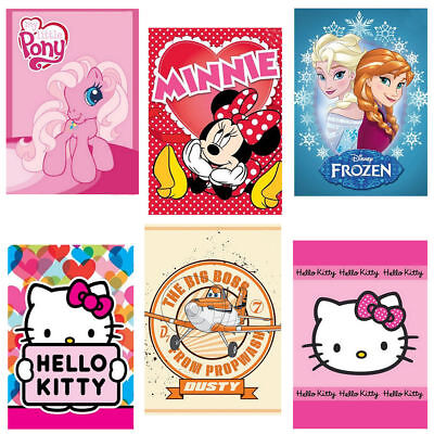 Kinder Handtuch Disney 40x60 Spiderman Cars Hello Kitty Frozen Minnie Mouse
