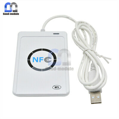 ACR122u USB NFC Reader&Writer 13.56Mhz RFID Copier Duplicator For iPhone