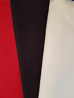 DMC Aida Cross Stitch Fabric, 14ct, Red, Cream, Black, Various sizes