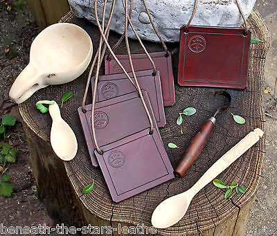 Leather Carving Bib - Chest Protection For Spoon / Kuksa / Bowl Wood Working