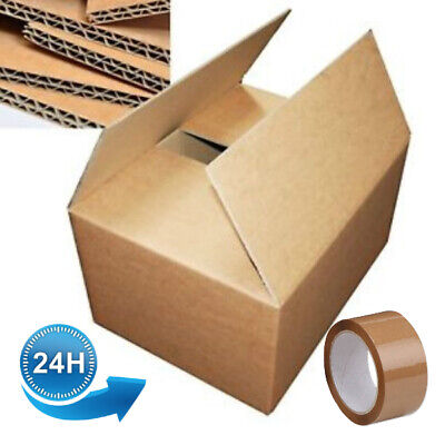 NEW 15 X LARGE DOUBLE WALL Cardboard House Moving Boxes - Removal Packing box