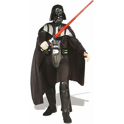 Star Wars Darth Vader Deluxe Costume Adult One Size Fits Most