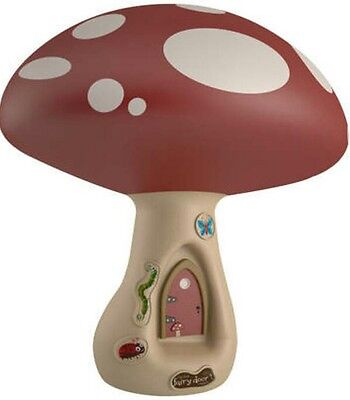 Irish fairy ,door company,ambient, toadstool light,night,pretty, soothing,lamp