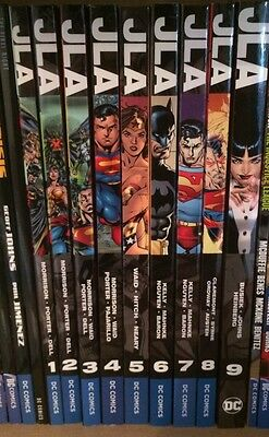 *PRICE DROP* JLA Justice League Graphic Novel Volumes 1-9 DC Omnibus