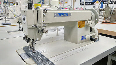 THOR GC-0302 Single Needle Top and Bottom Feed Walking Foot Sewing Machine - New