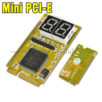 3 in 1 Mini PCI/PCI-E LPC PC Laptop Analyzer Tester Diagnostic Post Test Card