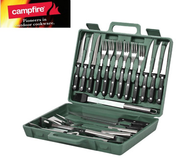 Kookaburra 20 Piece BBQ Tool Set Portable & Lightweight