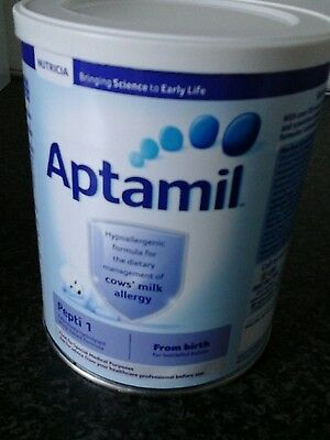 aptamil peptic 1 from birth 400g sealed and exp august 2018 cows milk allergy