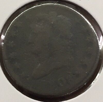 1808 Large Copper Cent Classic Head Penny  : Combined Shipping : C005