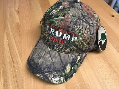 Mossy Oak  TRUMP 2016  Donald Trump Hat Camo