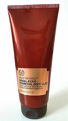 The body The Body Shop Himalayan Charcoal Body Clay 200ml (mit Kohlepulver)