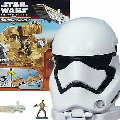Starwars, micro ,machine, stormtrooper ,play ,set ,Jedi,kids ,toys,TV, film,rare