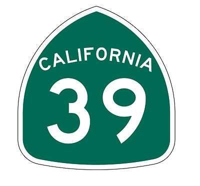 California State Route 9 Sticker Decal R1122 Highway Sign