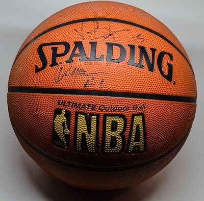 Signed Vince Carter and Tracy McGrady Basketball