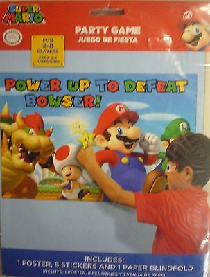 Super Mario Party Decoration & Game (Pin the tail on a Donkey)