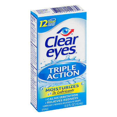 Clear eyes Triple Action Relief 0.5 fl oz (15 ml)