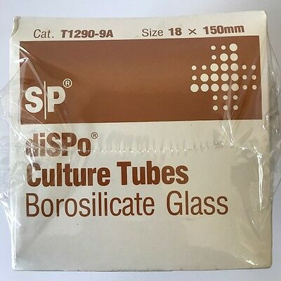 New Disposable Culture Tubes VWR Cat # 60825-673 18mm x 150mm