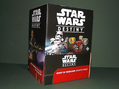 Rare and Legendary Star Wars Destiny, Spirit of Rebellion. Card & Die. Free p&p