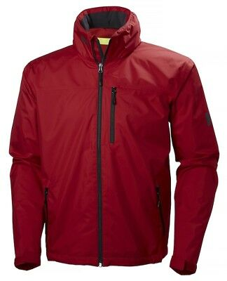 Helly Hansen Crew Hooded Jacket Red