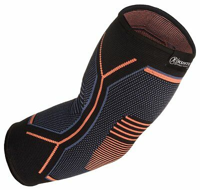 Kunto Fitness Elbow Brace Compression Support Sleeve for Tendonitis, XS, S, M, L