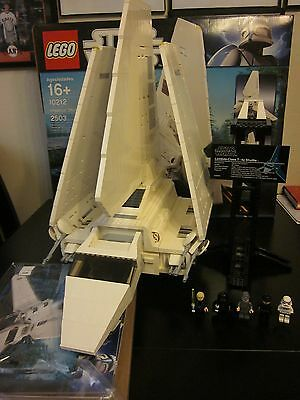 Lego 10212 Star Wars UCS Imperial Shuttle - 100% Complete with Box