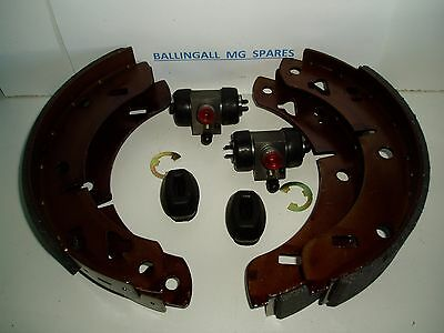 182-100K  Mgb Rear Brake Shoes, Wheel Cylinders & H/brake  Boots All Model Mgb's