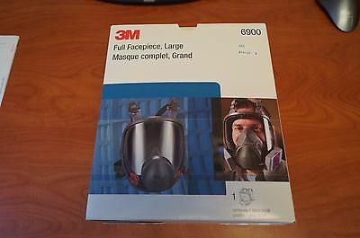 NEW 3M 6900 Full Facepiece Reusable Respirator Large Mask