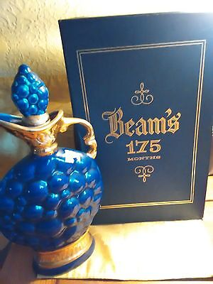 beam glass wine jug