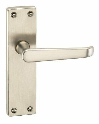 URFIC 90-325-05 LA - Set serratura e maniglia per porta in nickel, in (p3k)