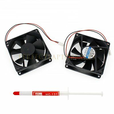 1Pcs NEW For Jamicon JF0825S2H Server Square Fan DC 24V 0.15A 80*80*25mm 2Pin