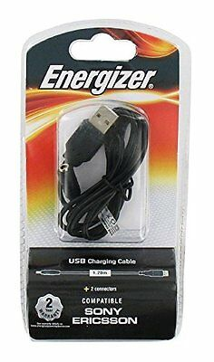 Energizer LCHECUSBFRSE2 1.2m USB A Black USB cable - USB cables (USB A, (S8o)