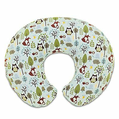 Chicco 06079902720000 Boppy Cuscino Allattamento, Multicolore (Woodsie (L0H)
