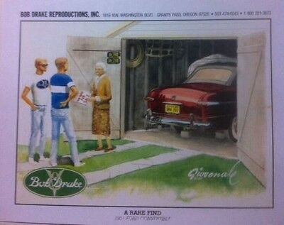 """Early Ford /""""Paying The Price/"""" Illustration 8x10 Reprint Garage Decor"""
