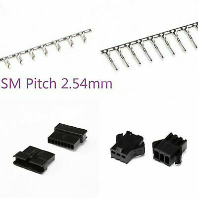 SM Pitch 2.54mm Male/Female Reed Crimp Copper Pin/Housing Terminal Connector