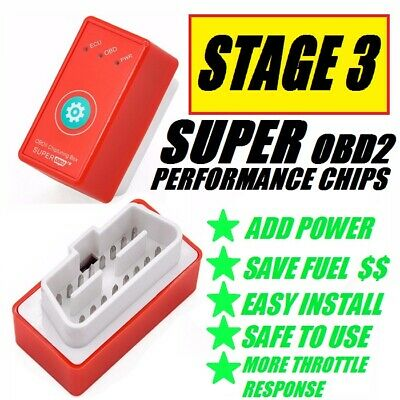 For CHEVY Best OBD2 Tuner Performance Chip 1996-2017 SAVE GAS//FUEL Plug N Play