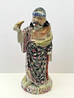 19th Ca. Chinese Famille Rose Porcelain  Immortal Figure
