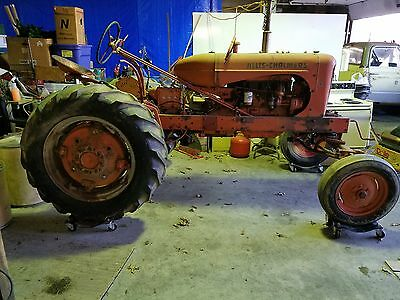 Vintage 1954 Allis Chalmers Wd 45 Tractor *new Pics Added