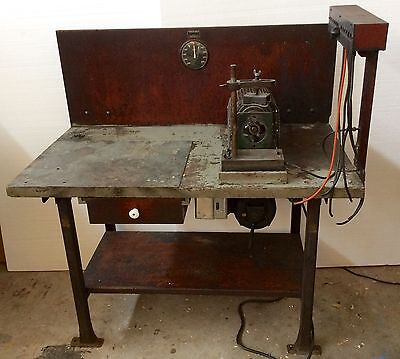 Antique HIT & MISS Old Stationary ENGINE Vintage BOSCH MAGNETO TESTER Test BENCH