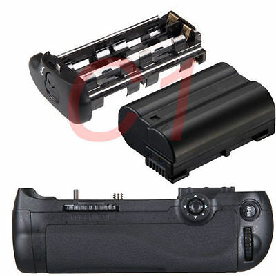 Vertical Battery Grip Pack For Nikon D600 D610 Camera as MB-D14 +EN-EL15 Battery