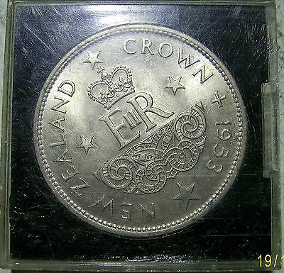 New Zealand 1953 Cased Crown.Unc.(O1111510e)