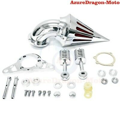 Spike Intake Air Cleaner Filter Kit For Harley Softail Dyna Touring Rocker