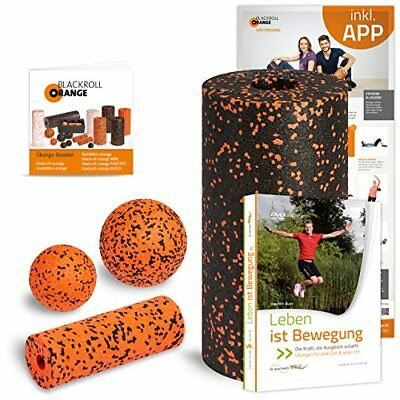 Blackroll Orange (L'originale) - Il rullo per automassaggio - Vital-Set (O7e)
