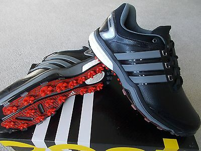 Mens Adidas Golf Shoes Trainer Style Adipower Boost Wd Wide Waterproof Uk 8 Eu42