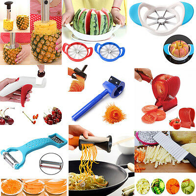 Home Kitchen Vegetable Spiral Slicer Potato Cutter Peeler Gadget Tools