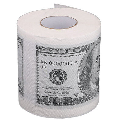 AF Toilet paper rolls paper in pattern for $ 100 White