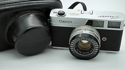 Canon Canonet with Case 35mm Film Camera K9(1504862)