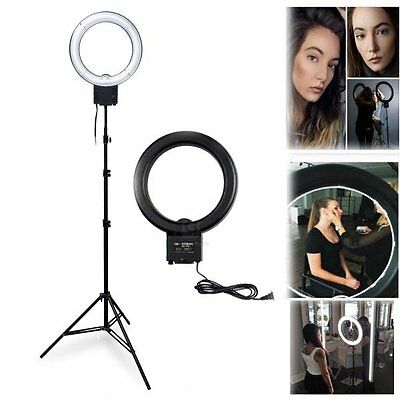 Studio 40W 5400K DIVA Ring Lamp Light + 200cm Light Stand for Beauty Makeup 120V