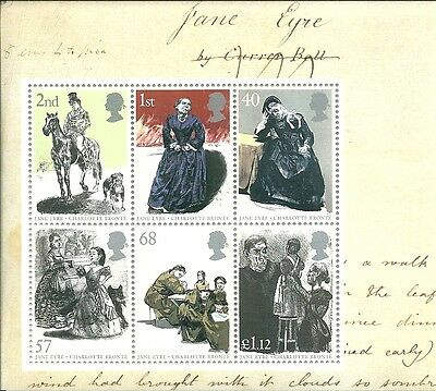 2005 GB - Jane Eyre Stamps in Miniature Sheet #MS2524 MNH