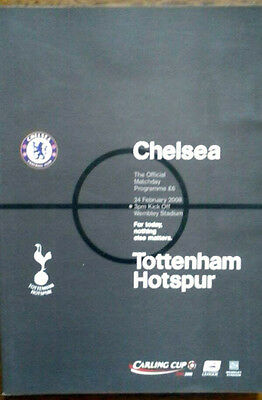 Chelsea V Tottenham 24/2/2008 League Cup Final