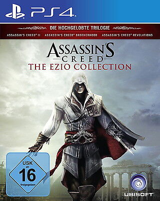 Assassin's Creed The Ezio Collection PS4 *NEU & OVP* Sony PlayStation 4 Trilogie